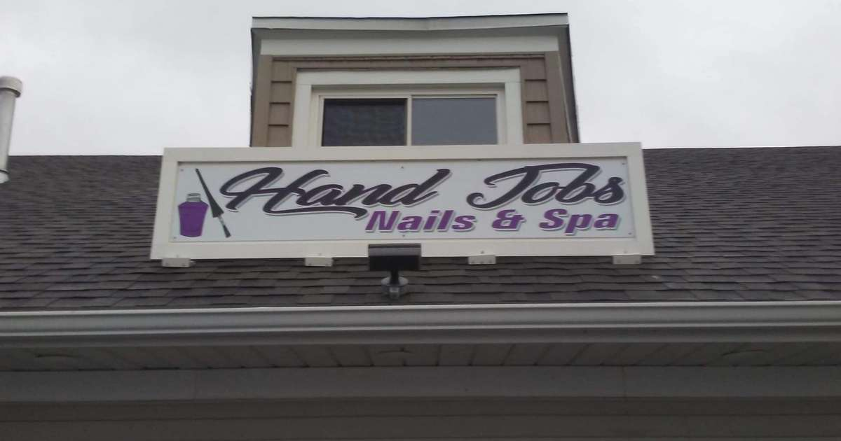 Nail Salon's Hilariously Risqué Name Sparks Controversy and Laughs