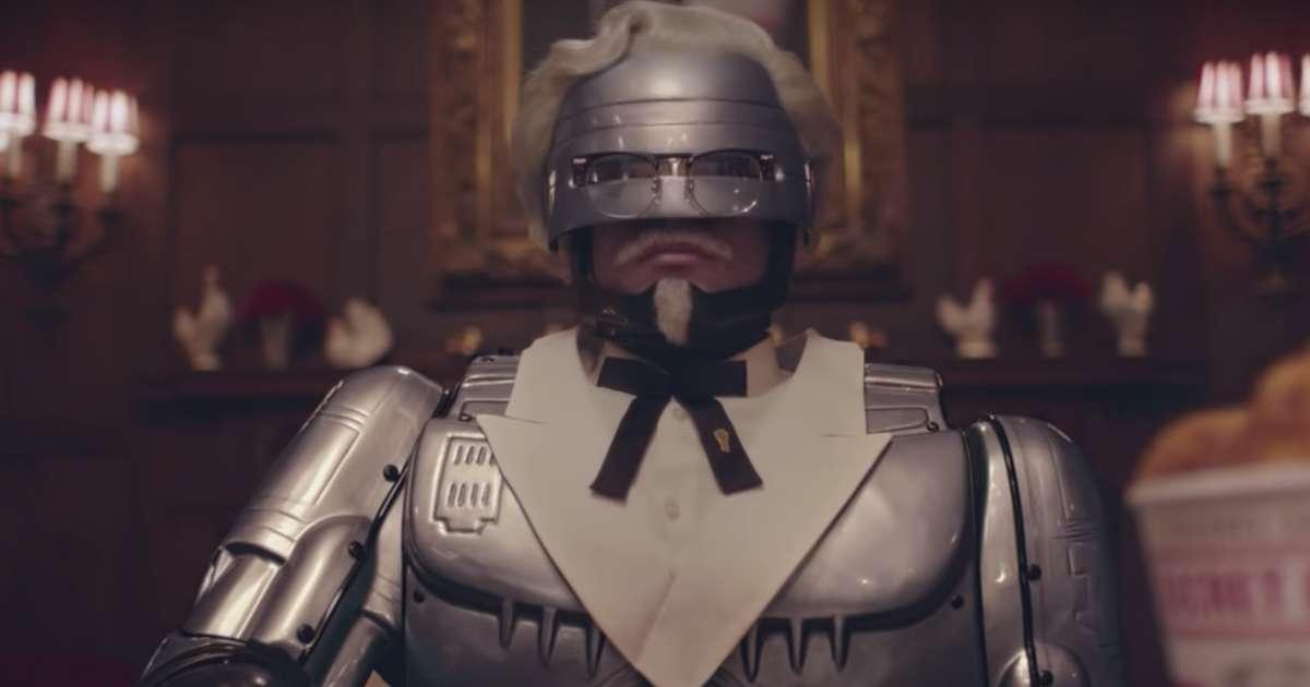 KFC's New Colonel Sanders Is... RoboCop?