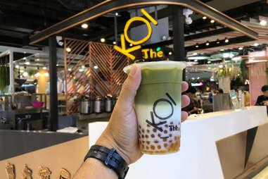 koi boba milk tea in thailand teas bobas drinks tapioca pearls guide