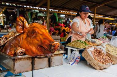 Saturday market, Otavalo, Imbabura, Ecuador