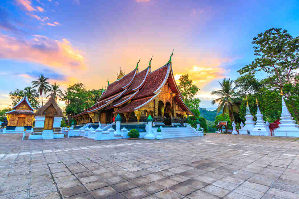 Wat Xieng Thong (Golden City Temple) in Luang Prabang, Laos
