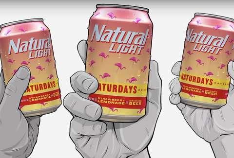 Natural Light Naturdays Where To Buy The Strawberry Lemonade Beer