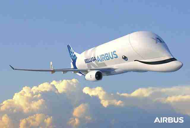 New 'Beluga' Airplane Might Be The Cutest Plane Ever