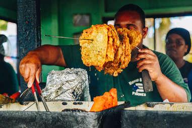 Kiosko El Boricua fritters