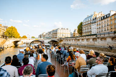 boat ride on the seine river
