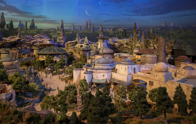 Sneak Peek: Disney's New Star Wars Parks Will Blow Your Mind Like the Death Star