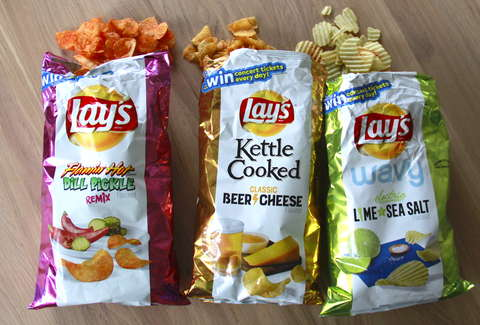 New Lay's Chip Flavors Reviewed: Beer Cheese, Flamin' Hot