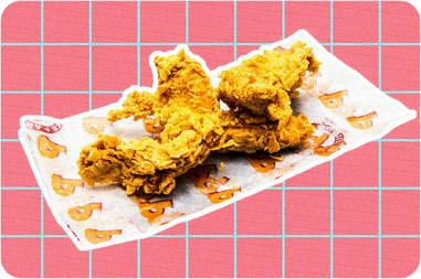 Blackened chicken tenders