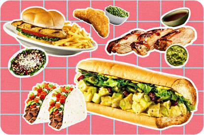 healthy fast food orders