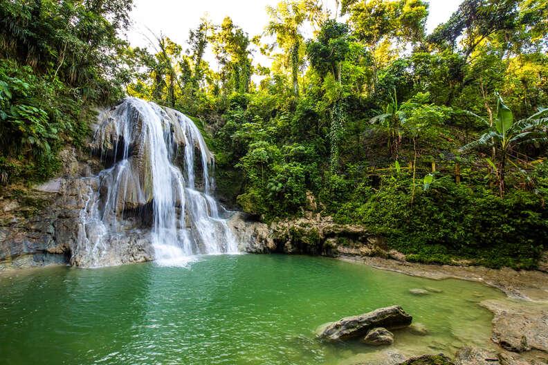 Gozalandia Waterfall in San Sebastian