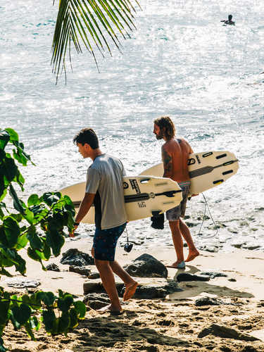 Find Legendary Surfing and Sunsets in Puerto Rico's Chillest Beach Town