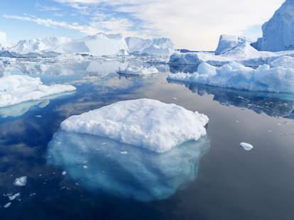 grandma on iceberg