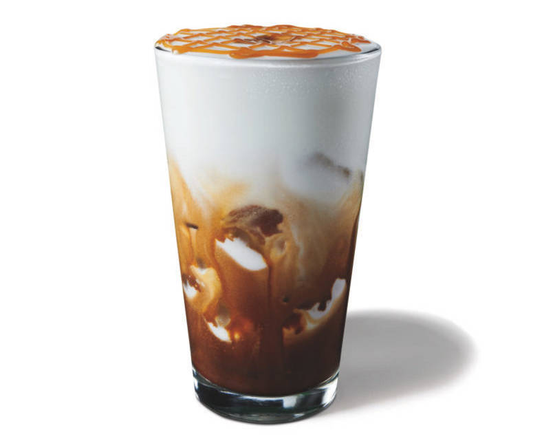 Starbucks New Cloud Macchiato Drink Review Is The Cold Foam Any Good Thrillist