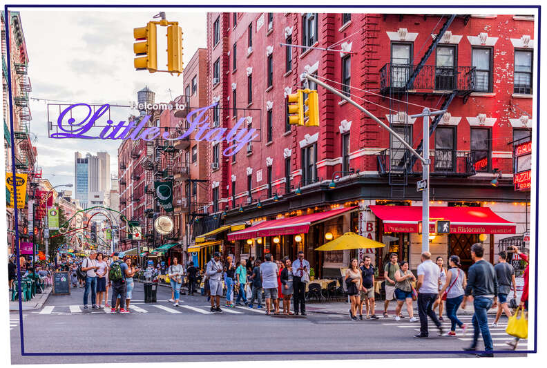 Little Italy NYC sign
