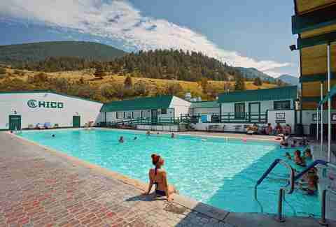 Chico Hot Springs Resort & Day Spa