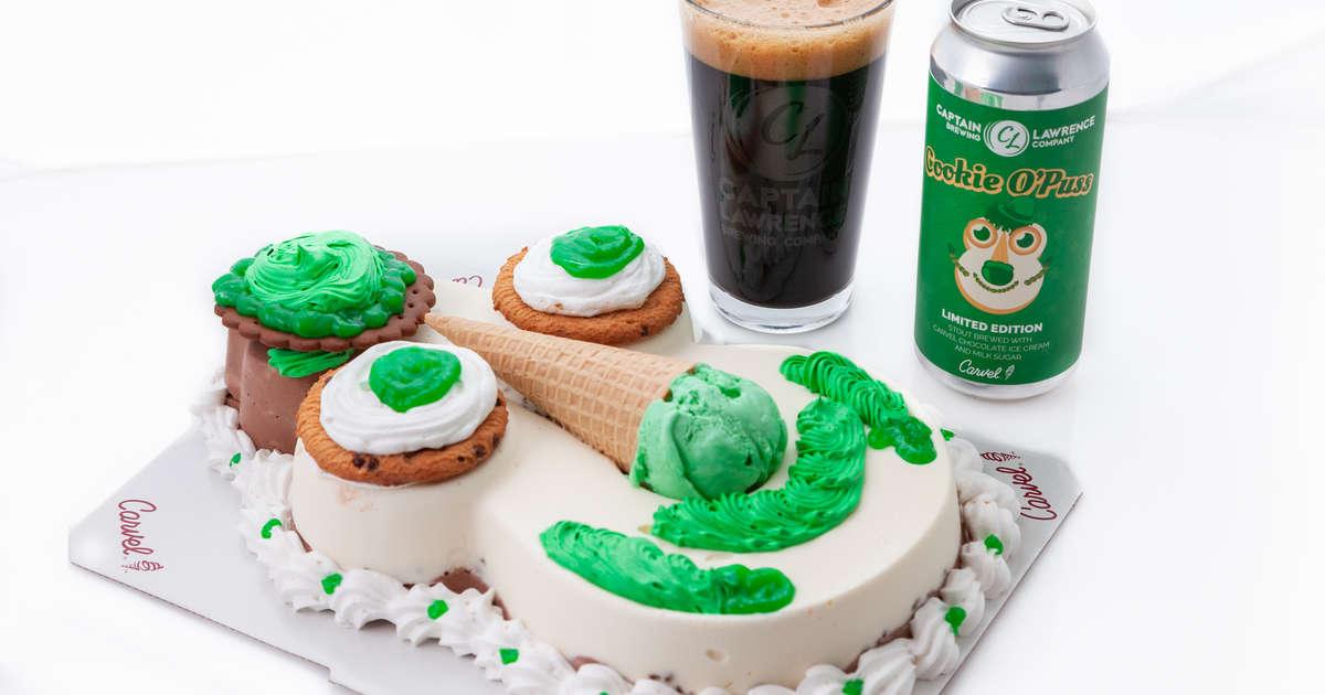 Cool Carvels Cookie Puss Beer Review Is The Cookie Puss Cake Beer Funny Birthday Cards Online Necthendildamsfinfo