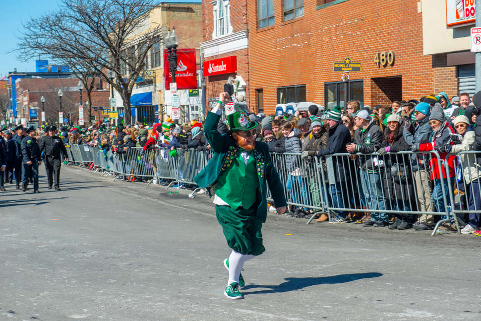 b94ef5c31 St. Patrick s Day Parade in Boston 2019  Route