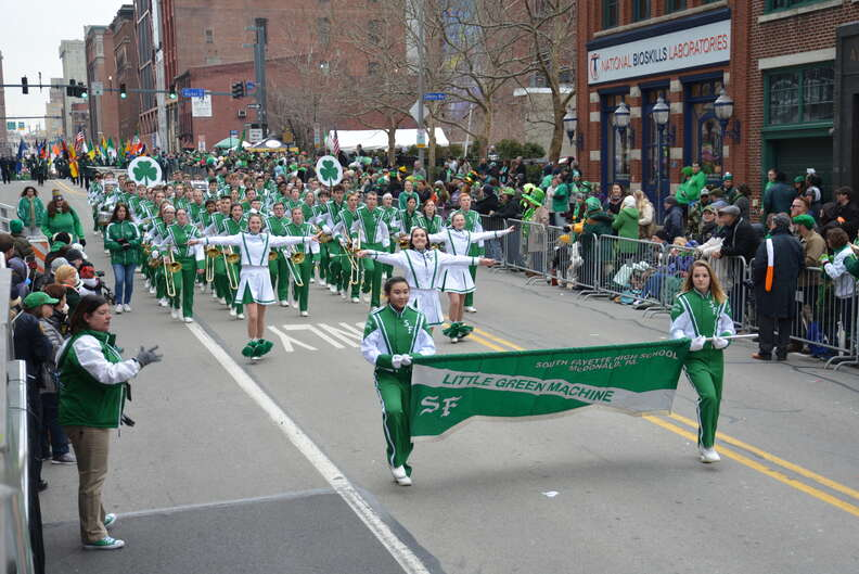 st patrick's parade in pittsburgh