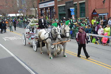 pittsburgh st. patrick's day horses