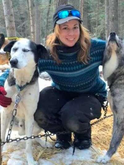 dog sled canada