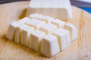soft tofu cut into cubes