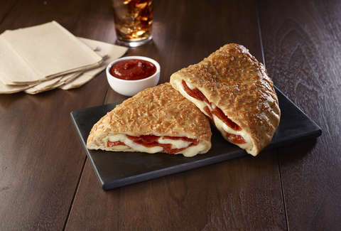 p'zone calzone pizza hut