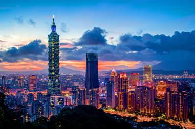 Taipei 101 Scrape, Taiwan