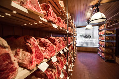 dry aged steaks at gallaghers steakhouse