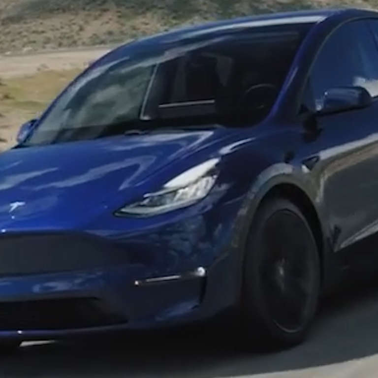 Elon Musk Unveils Tesla Model Y - NowThis