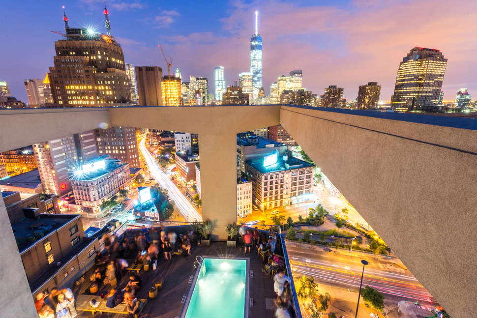 Best Rooftop Bars In Nyc Where Can You Drink Outside With A View
