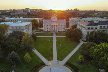 Iowa City is home to the country's oldest (and best) creative writing programs, the Iowa Writers' Workshop.