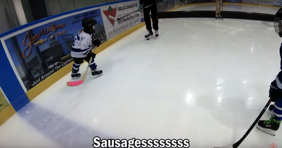 Dad Once Again Mics up 4-Year-Old Son at Hockey Practice & It's Even Funnier This Time