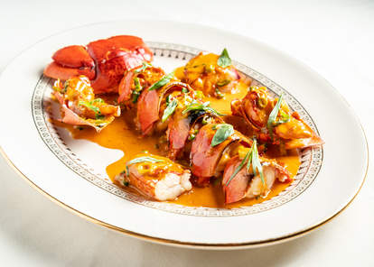 lobster newberg the grill