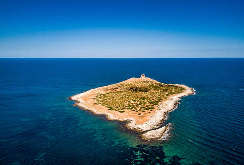 Want Your Own Peaceful Private Island? This Stunning One in Italy Is a Bargain.