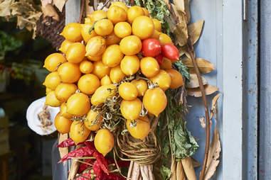 greengrocer stall