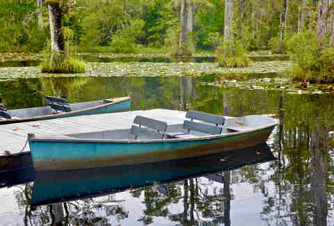 cypress gardens row boats