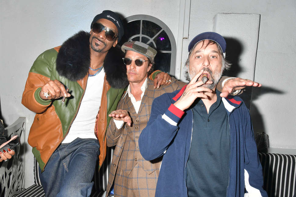 snoop dogg, matthew mcconaughey, and harmony korine