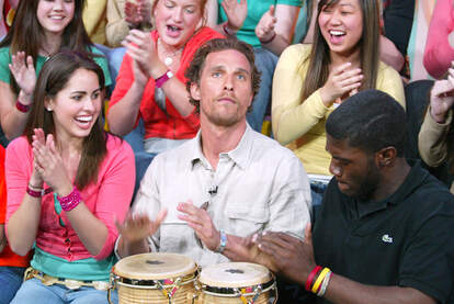 matthew mcconaughey bongos