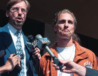 matthew mccconaughey 1999 arrest