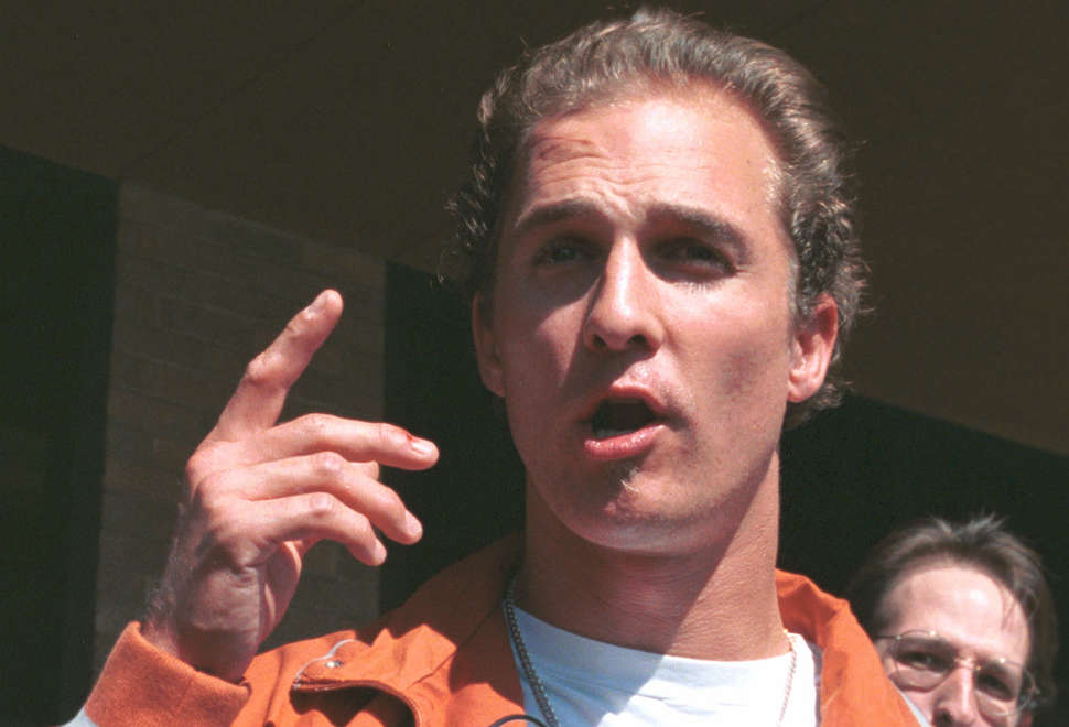 Looking Back at Matthew McConaughey's Wild Night of Naked Bongo-Playing