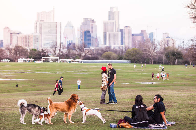 Zilker Park, Austin, Texas
