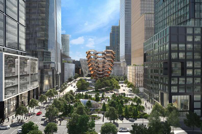 Public Square Vessel at Hudson Yards