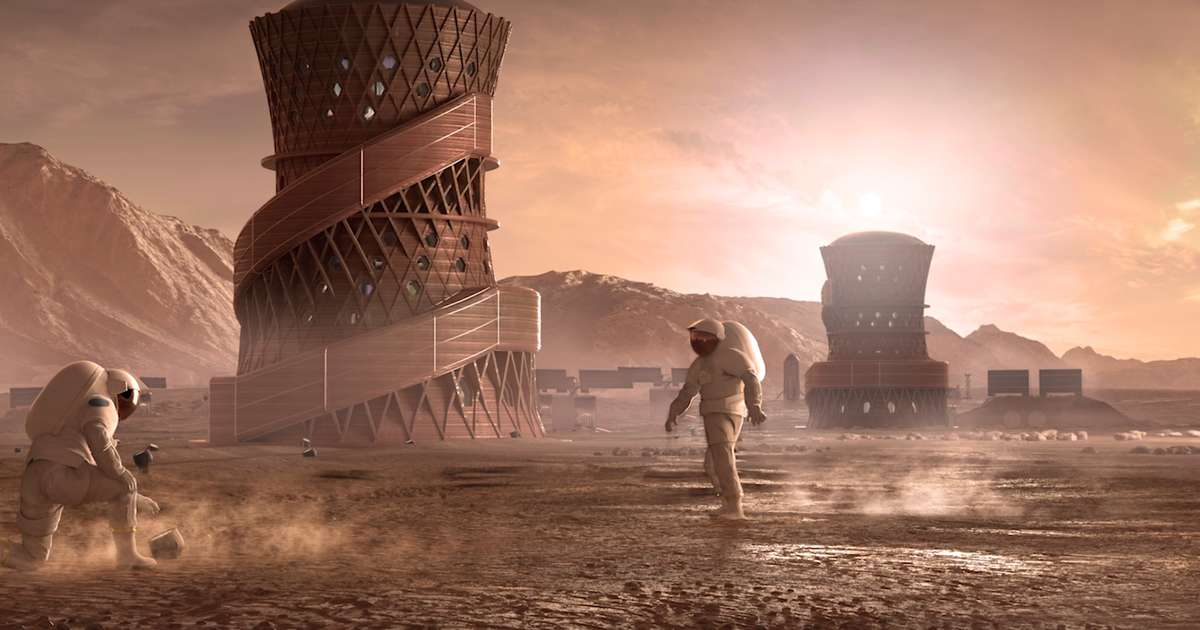 These Are the Types of Homes NASA Thinks We'll Live in on Mars