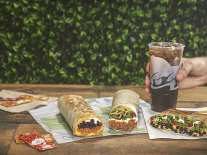 Taco Bell Vegetarian Food