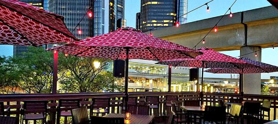 Celebrate Outdoor Drinking Season at Detroit's Best Rooftop Patios