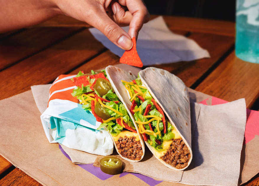 Taco Bell Just Unleashed a New $1 Taco Stuffed With Nachos