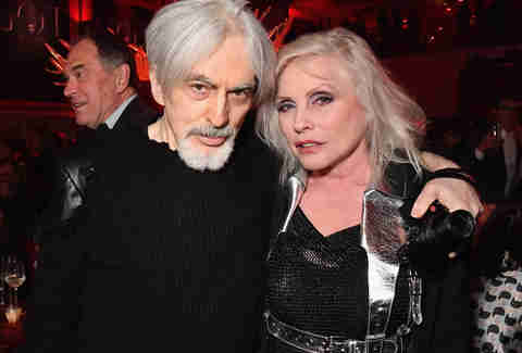 debbie harry and chris stein game of thrones premiere