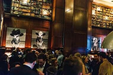 hudson hotel library bar