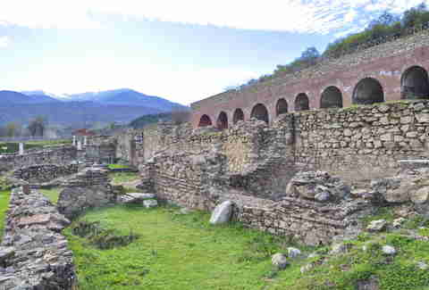 Heraclea Lyncestis Archaeological Site, Bitola, Macedonia