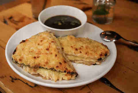 French Onion Grilled Cheese mother's ruin
